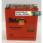 Motobatt Bike bull DS I-GEL 12V 12Ah YB12A-BS motor akkumulátor
