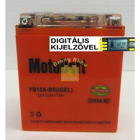 Motobatt Bike bull DS I-GEL 12V 12Ah YB12AL-BS