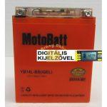 Motobatt Bike bull DS I-GEL 12V 14Ah YB14L-BS