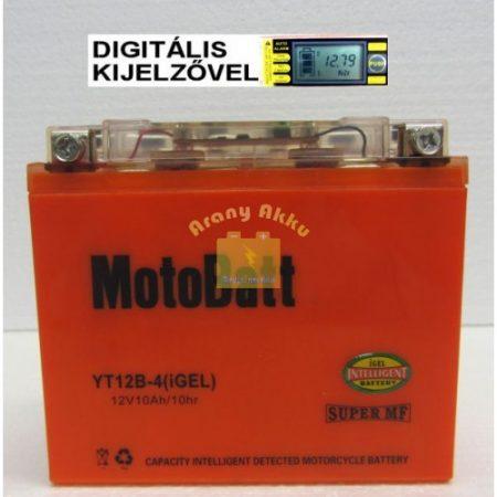 Motobatt Bike bull DS I-GEL 12V 11Ah YT12B-4 motor akkumulátor
