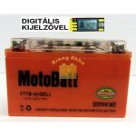 Motobatt Bike bull DS I-GEL 12V 6,5Ah YT7B-4 motor akkumulátor