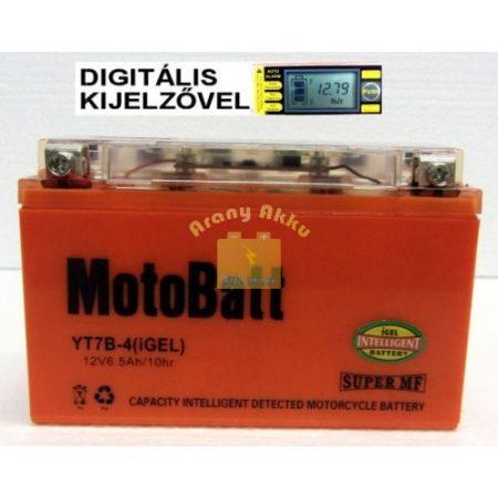 Motobatt Bike bull DS I-GEL 12V 6,5Ah YT7B-4