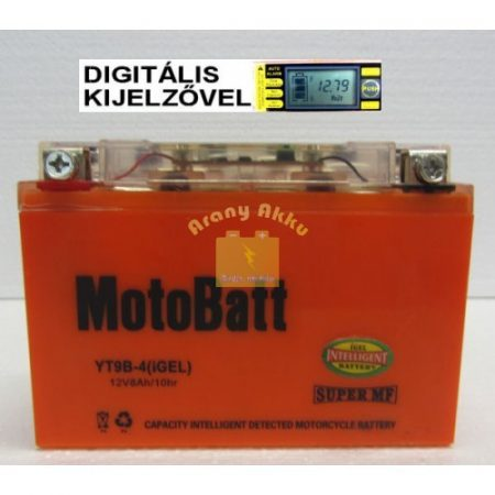 Motobatt Bike bull DS I-GEL 12V 8Ah YT9B-4