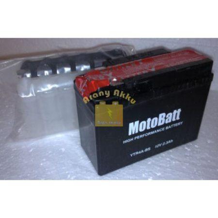 Motobatt Bike bull 12V 2,3Ah YTR4A-BS motor akkumulátor