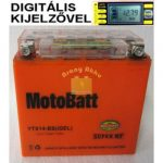 Motobatt Bike bull DS I-GEL 12V 12Ah YTX14-BS