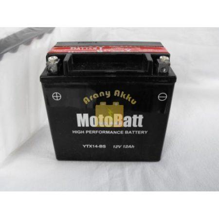 Motobatt Bike bull 12V 12Ah YTX14L-BS motor akkumulátor