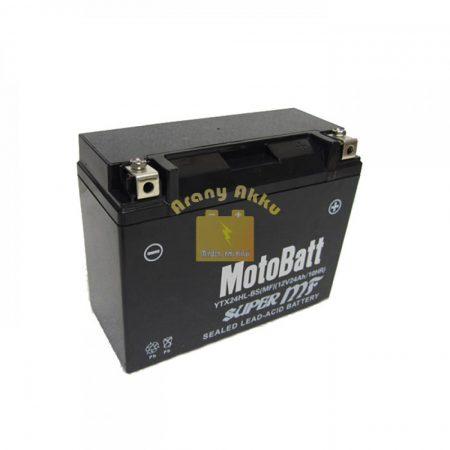 Motobatt YTX24HL-BS  Motorakkumulátor (gondozásmentes, AGM)