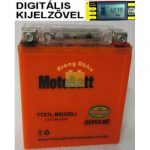 Motobatt Bike bull DS I-GEL 12V 7Ah YTX7L-BS motor akkumulátor