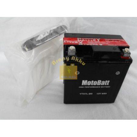 Motobatt Bike bull 12V 6Ah YTX7L-BS motor akkumulátor