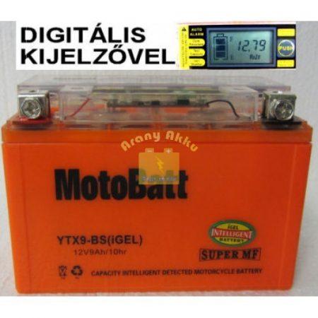 Motobatt Bike bull DS I-GEL 12V 8Ah YTX9-BS motor akkumulátor