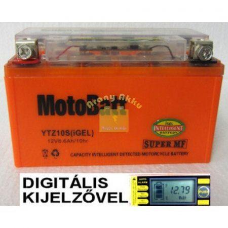 Motobatt Bike bull DS I-GEL 12V 8,6Ah YTZ10-S motor akkumulátor