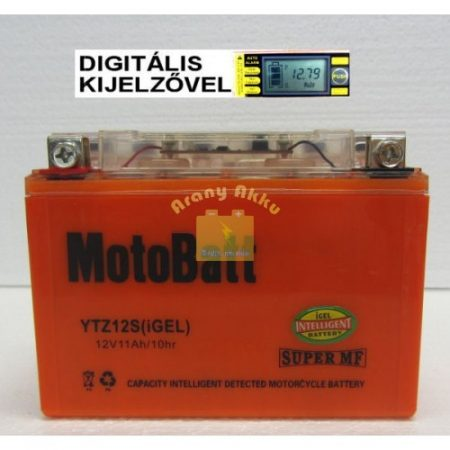 Motobatt Bike bull DS I-GEL 12V 11Ah YTZ12-S