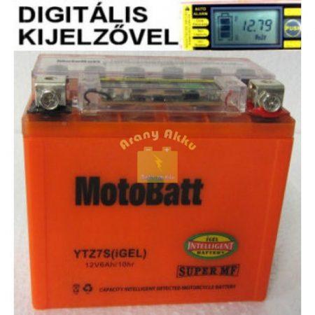 Motobatt Bike bull DS I-GEL 12V 6Ah YTZ7-S motor akkumulátor