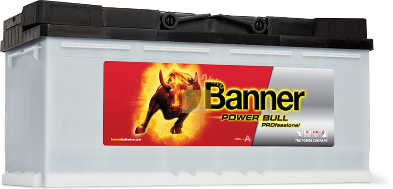 BANNER Power Bull PROfessional 12V 110Ah 900A teherautó akkumulátor