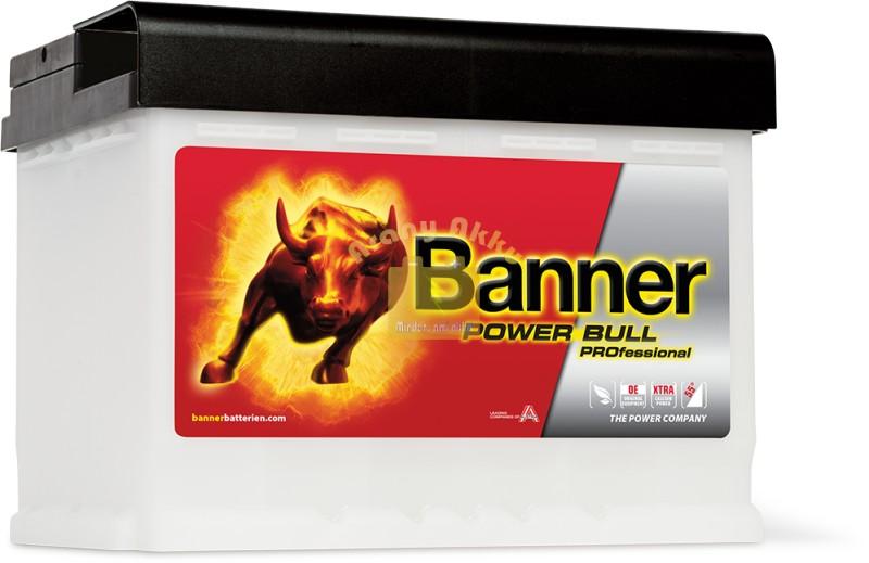 BANNER Power Bull PROfessional 12V 63Ah 620A